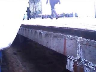 Как сгоняют в Киеве зацеперов.