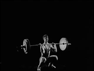 Тяжелая атлетика. Обучение технике толчка. nz;tkfz fnktnbrf. j,extybt nt[ybrt njkxrf.