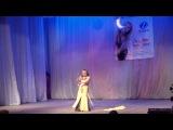 Ученики школы восточного танца Самира - Ступицкая Анастасия 1001ночь(постановка Мандровой Яны) Кубок Гра