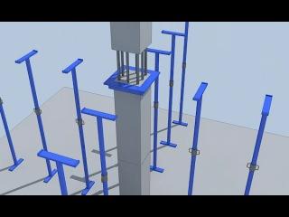 Строительство зданий по технологии сборного каркаса 2