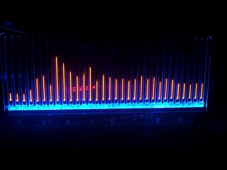 спектроанализатор на ин-13 с подсветкой, тест