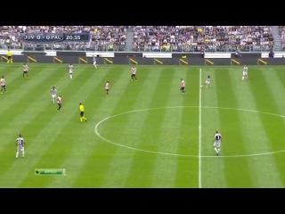 Чемпионат Италии 2012-13 / 35-й тур / Ювентус - Палермо / 1 тайм