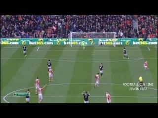 Сток Сити - Саутгемптон обзор матча (FOOTBALLand.Net)