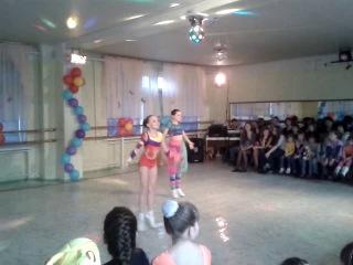 Танец Пепи длинный чулок в исполнении Белошевской Дианы и Копалкиной Ольги