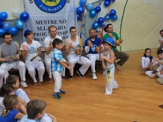 Открытая рода Capoeira Angola Palmares 01.02.14. Часть 2