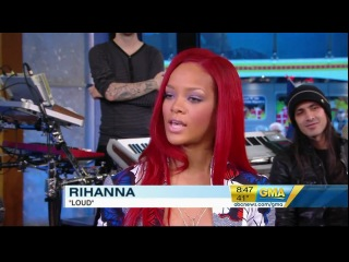 RIHANNA live on Good morning America Only Girl (In The World)/What's My Name?