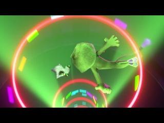 Мадагаскар 3 - Выступление в цирке. Самый офигенный момент в этом мультике!!!!!!!!