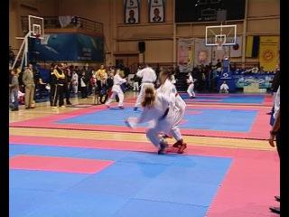 Первые шаги в спортивном каратэ