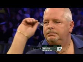 Robert Thornton vs Raymond van Barneveld (Players Championship Finals 2013 / Round 2)
