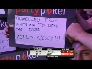 Dave Chisnall vs Ian White (World Grand Prix 2013 / Round 1)