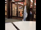Me On Mondays Kid trying to walk through a door (Vine)