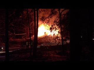 Пожар на повенецкой г Медвежьегорск 23 01 13