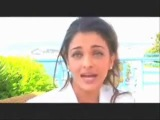 Aishwarya Rai Interview - Cannes 2005