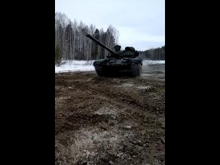 Еланский дрифт на танке (Автомобильные войска, автобат)