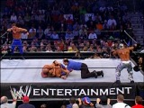 WWE - Chris Benoit & Kurt Angle vs. Edge & Rey Mysterio (WWE Tag Team Title Tournament Final Match (vacant)) (20.10.2002)