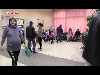В Санкт-Петербурге сотрудники полиции сняли на видео попытку продажи ребенка узбечками_