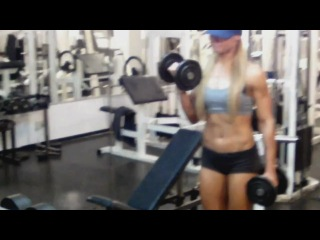 Female Bodybuilding and Fitness Motivation - To The Stars (Muscle Factory)