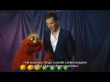 Benedict Cumberbatch and the Sign of Four (or is it Three) - [русские субтитры]