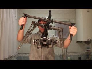 Гироскопический стабилизатор камерыСтэдиКам в действии / Demonstration of Stabilizer Steadicam