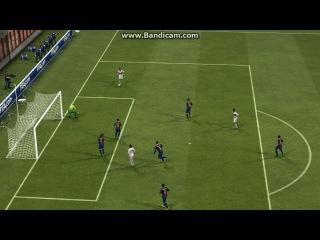Самый тупой автогол в FIFA13(Я за Милан играл)