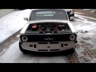 ГАЗ 24 с двигателем BMW V8