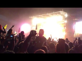 Rammstein Du Hast Рок над Волгой 2013