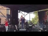 Nargiz Zakirova and  Philip Balzano, Russian festival in Brooklyn