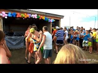 Праздник пива-2013 на озёрах в Завьялово. Весёлый конкурс для отдыхающих.