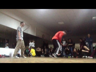 Kornel n Sancho Vs. Alegson Slon - Tie-Break - MoveOn Battle 15.02.2014