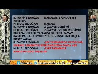 Başçalan Erdoğanın Yalanlarının ve Yolsuzluklarının Kaydı