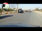 Повстанцы на улицах Эль-Фаллуджи, Ирак, 3 мая 2013 г.