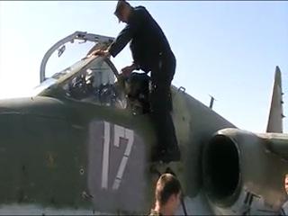 мой первый самостоятельный полет на самолете Су-25 в Борисоглебске 6 августа 2011 года