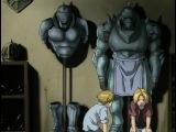 Стальной Алхимик  Цельнометаллический Алхимик  Fullmetal Alchemist - 3 серия 1 сезон [Озвучка: 2x2]