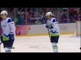 Хоккей.Олимпиада.Россия - Словения 5:2(13.02.2014 г.)