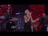 Miley Cyrus Wrecking Ball at The Ellen DeGeneres Show