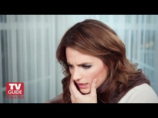 Castle Stana Katic wants Castle and Beckett to make out!!