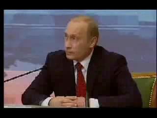 Путин читает реп - Никто не хочет таскать каштаны из огня