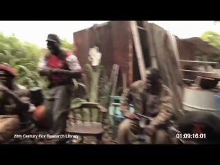 обезьяна с автоматом АК-47 это тебе не женщина за рулем (эпическое видео)