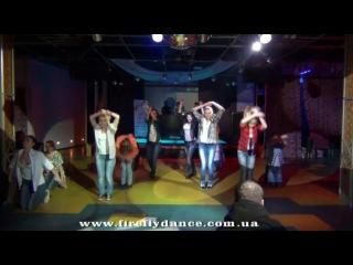 Отчетный концерт СТFirefly Ночь Светлячков 2013. Mtv-style (преподаватель Наталья Коношевич)