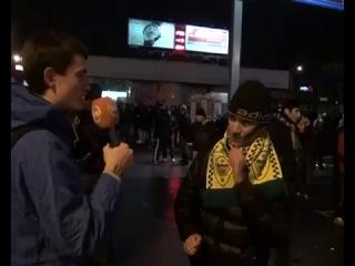 Дагестан 05 регион: Дагестанец, болельщик футбольного клуба Анжи в Москве. Даг мочит коры есть жи бля )))