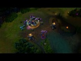 Nasus and Garen trolling teemo.