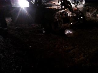 Авария у Морозовицы 07 02 2013