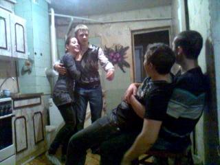 Миниатюра Валера Аникеев и маленькая Маринка