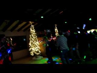Новогодний поздравительный танец  в честь юбилея 50 лет руководителя флашмобов.