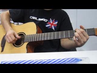 гитарка LAG Tramontane T66DC