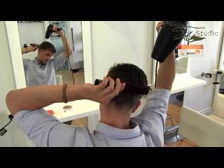Как сделать причёску как у Марко Ройса!