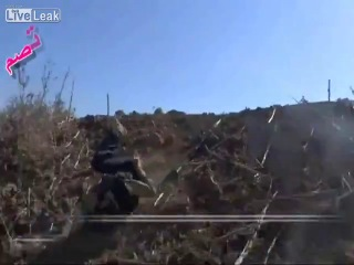 Сирия. Снайпер в ударе