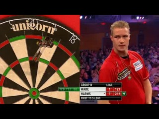 James Wade vs Wesley Harms (Grand Slam of Darts 2013 / Group B)