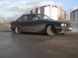 Городской дрифт  BMW E34    Е30
