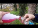 Как сделать взрыв с помощью бутылки, фольги и